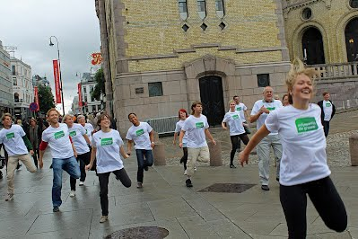 Arobics-flash mob 2011